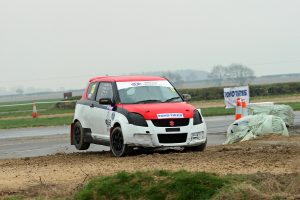 First Rallycross race at Blyton